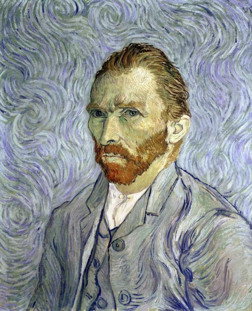 konfigurieren des Kunstdrucks in Wunschgröße Self Portrait von Van Gogh, Vincent