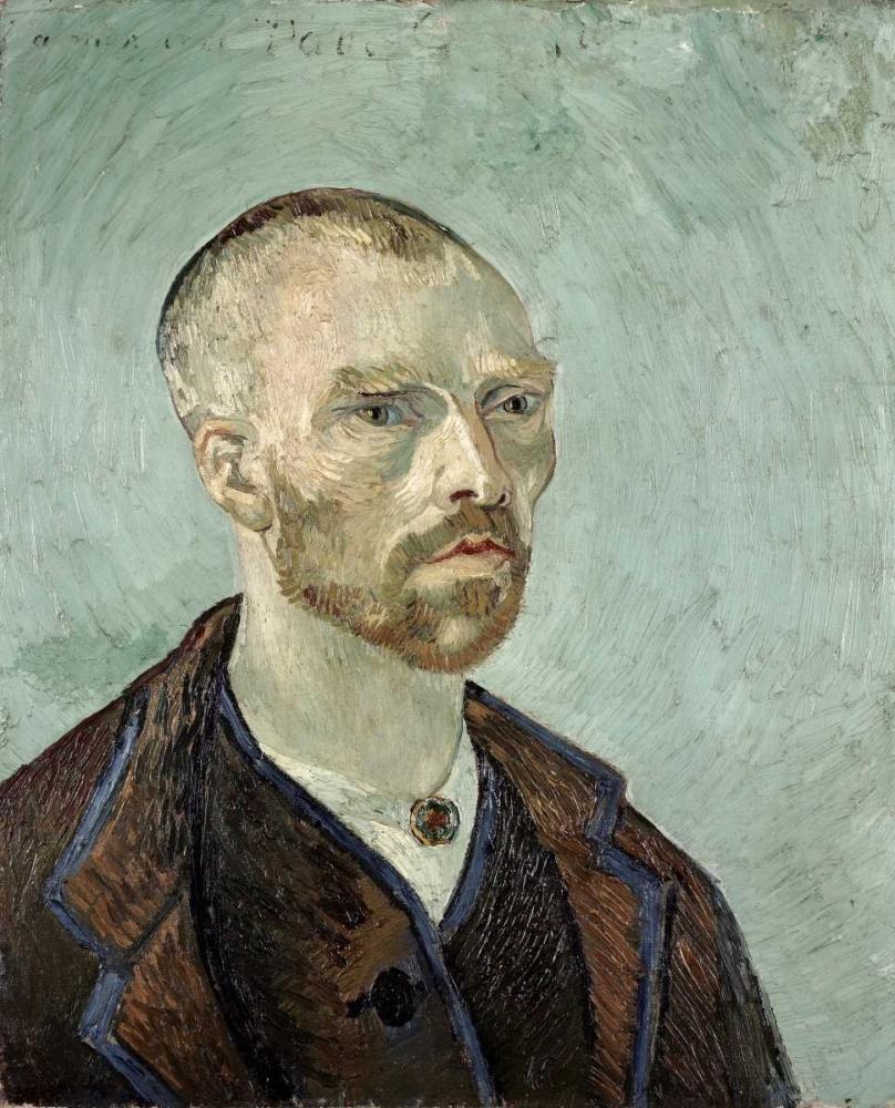konfigurieren des Kunstdrucks in Wunschgröße Self Portrait - I von Van Gogh, Vincent