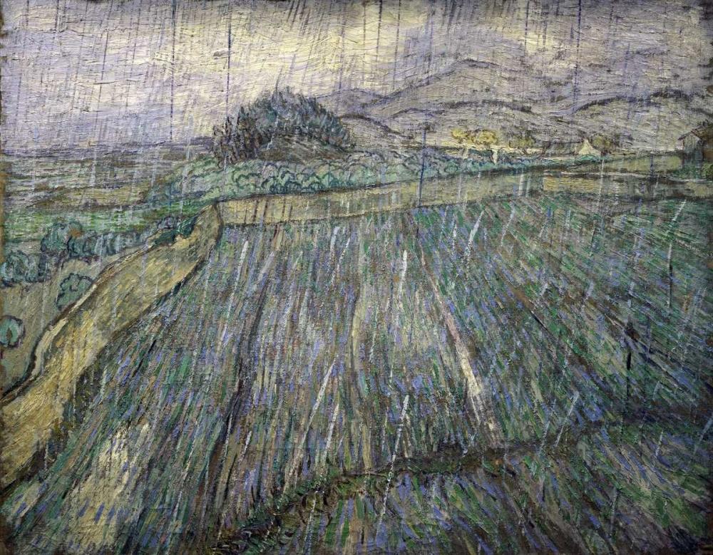 konfigurieren des Kunstdrucks in Wunschgröße The Storm von Van Gogh, Vincent