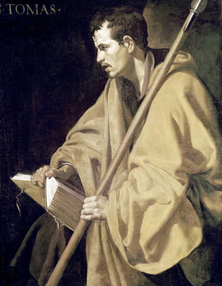 konfigurieren des Kunstdrucks in Wunschgröße Saint Thomas von Velazquez, Diego