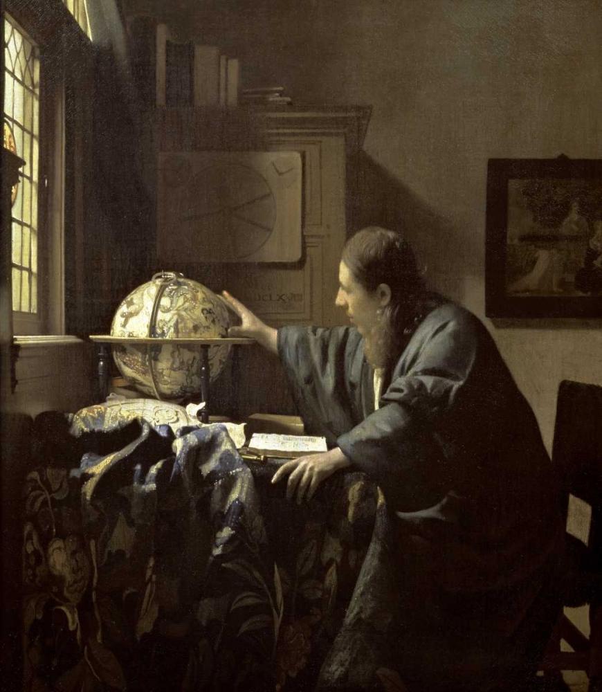 konfigurieren des Kunstdrucks in Wunschgröße The Astronomer von Vermeer, Johannes