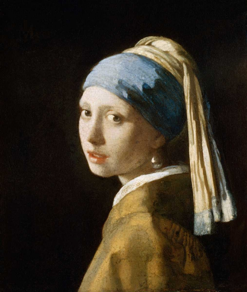 Girl with the Pearl Earring von Vermeer, Johannes <br> max. 69 x 81cm <br> Preis: ab 10€