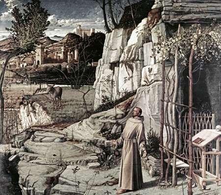 konfigurieren des Kunstdrucks in Wunschgröße Saint Francis in Ecstasy von Bellini, Giovanni