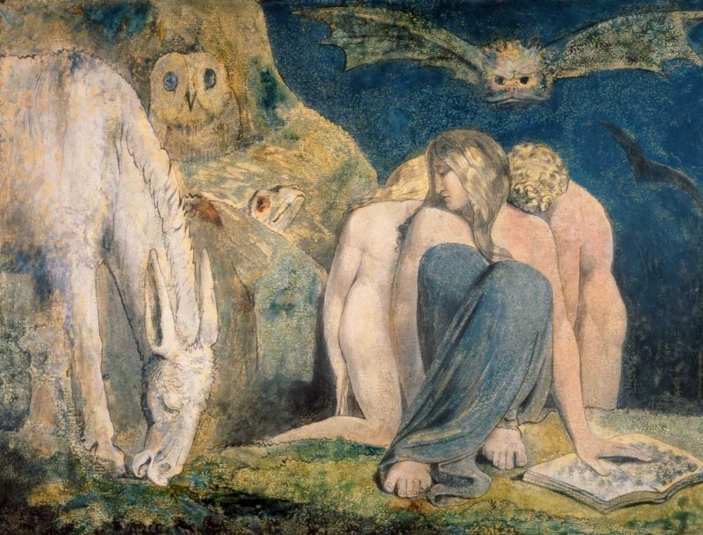 Hecatate von Blake, William <br> max. 99 x 76cm <br> Preis: ab 10€