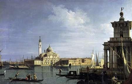 konfigurieren des Kunstdrucks in Wunschgröße The Island of San Giorgio Maggiore, Venice von Canaletto