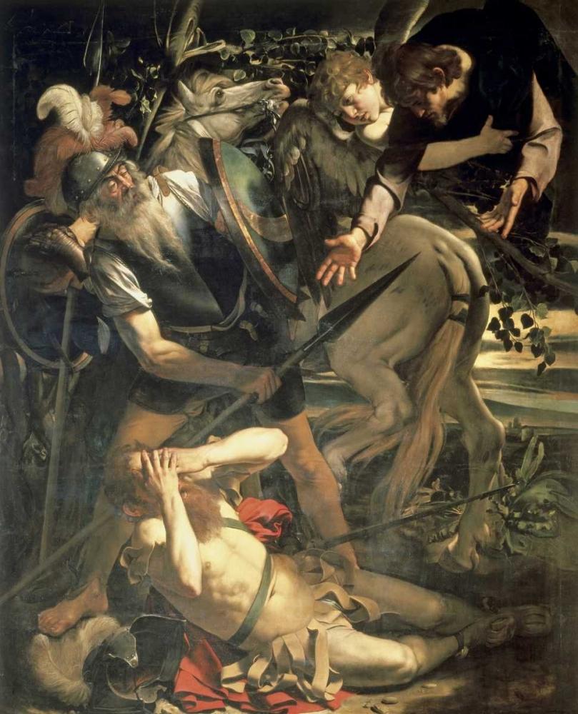 konfigurieren des Kunstdrucks in Wunschgröße Conversion of St. Paul von Caravaggio