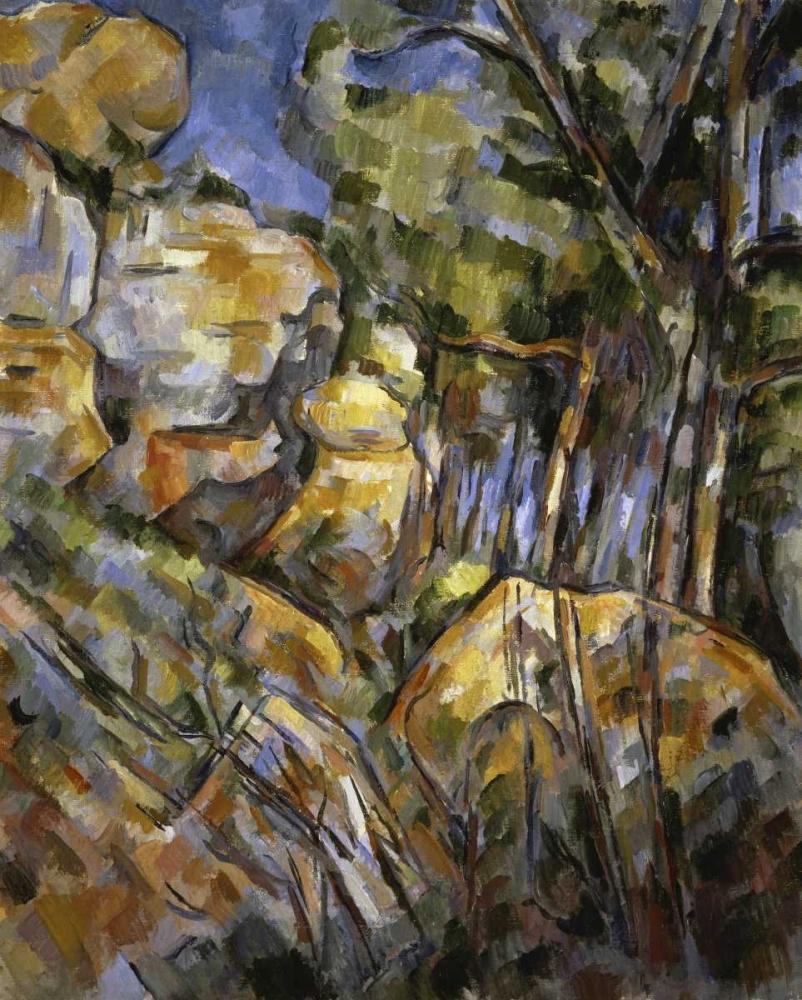konfigurieren des Kunstdrucks in Wunschgröße Le Paysage des Dernieres Annes von Cezanne, Paul
