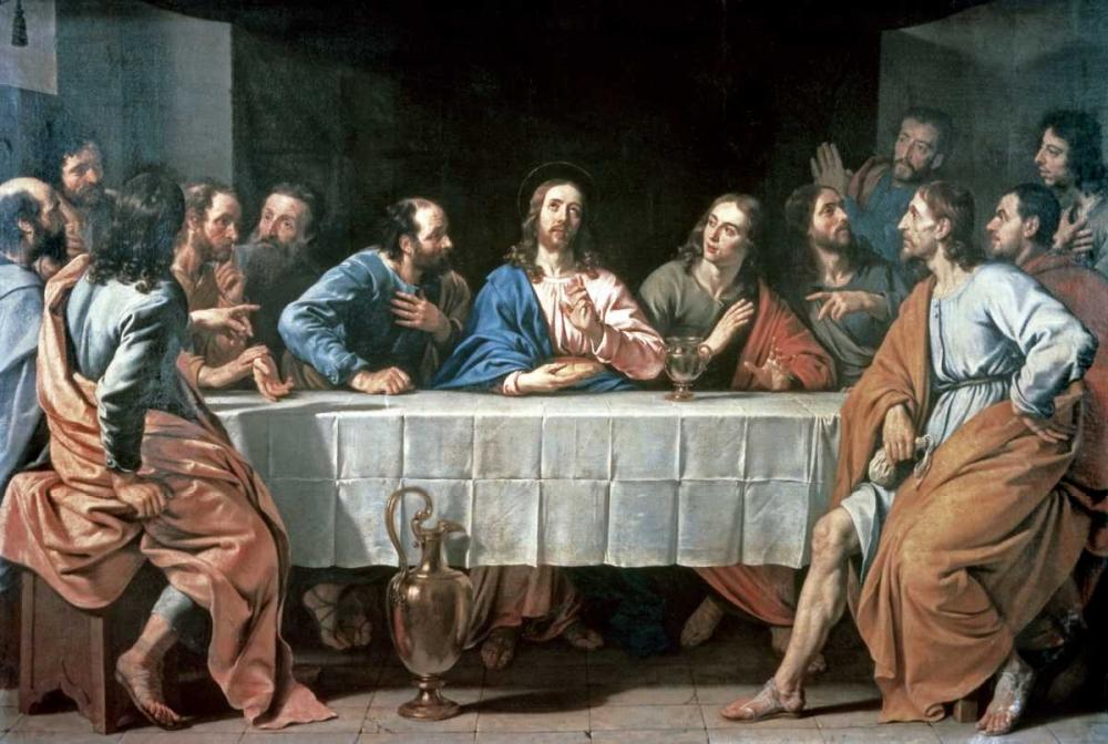 konfigurieren des Kunstdrucks in Wunschgröße The Last Supper von Einzelbilder