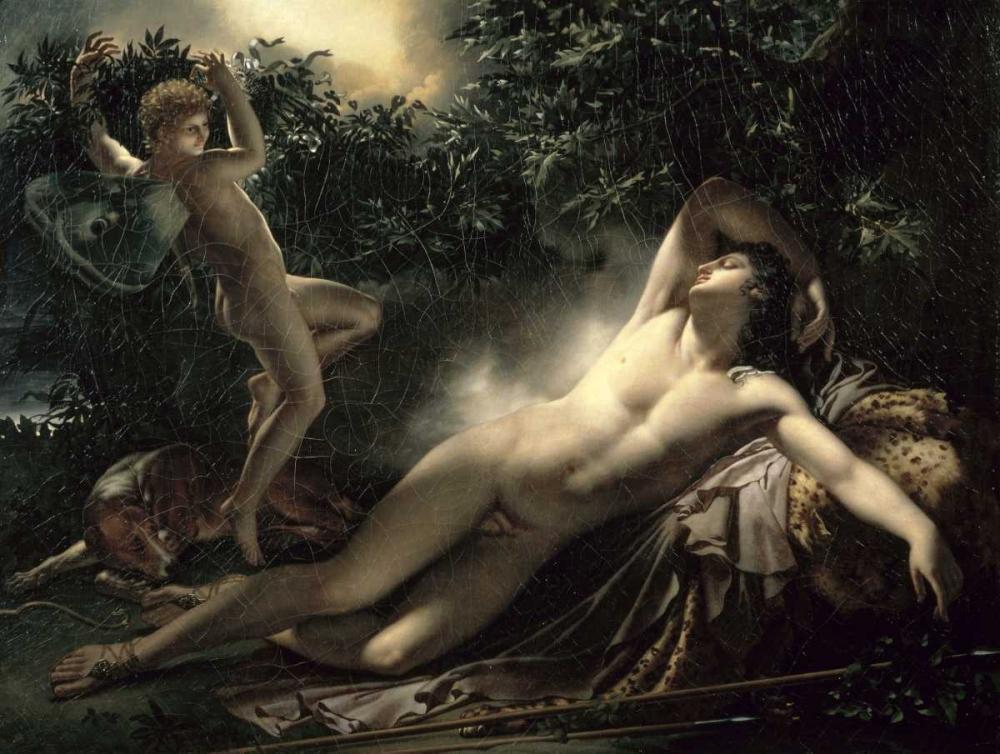 The Sleep of Endymion von De Roucy-Trioson, Anne Girodet <br> max. 102 x 76cm <br> Preis: ab 10€