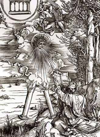 St. John Devouring the Book von Durer, Albrecht <br> max. 76 x 107cm <br> Preis: ab 10€