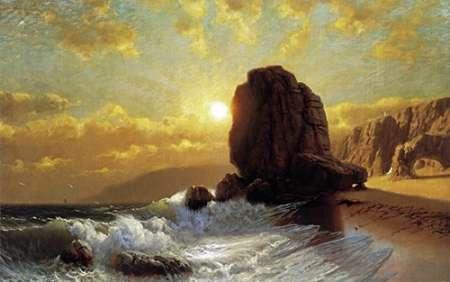 konfigurieren des Kunstdrucks in Wunschgröße Sunlight on the Coast von Einzelbilder