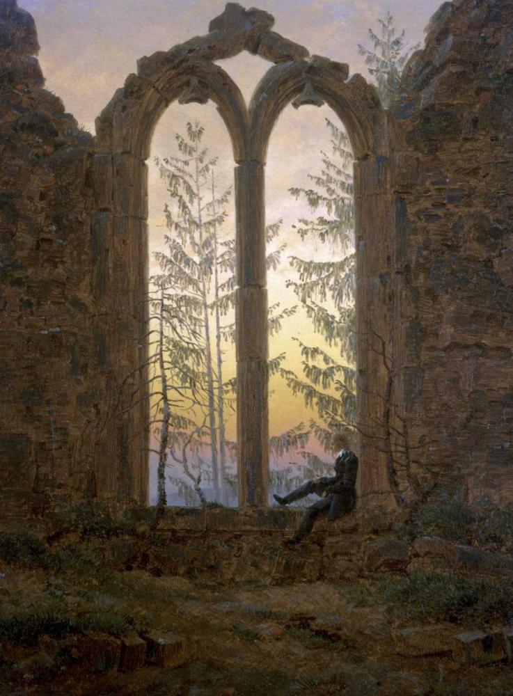 konfigurieren des Kunstdrucks in Wunschgröße A Dreamer von Friedrich, Caspar David