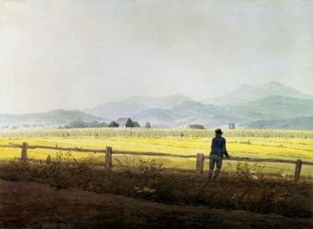 konfigurieren des Kunstdrucks in Wunschgröße Landscape von Friedrich, Caspar David
