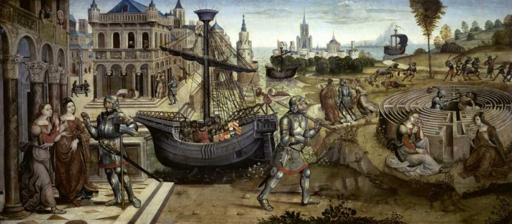 konfigurieren des Kunstdrucks in Wunschgröße Theseus and the Minotaur von Einzelbilder
