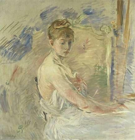 konfigurieren des Kunstdrucks in Wunschgröße Jeune Femme se Levant von Morisot, Berthe