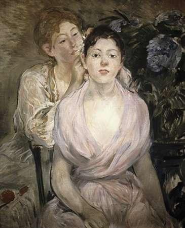 konfigurieren des Kunstdrucks in Wunschgröße LHortensia von Morisot, Berthe