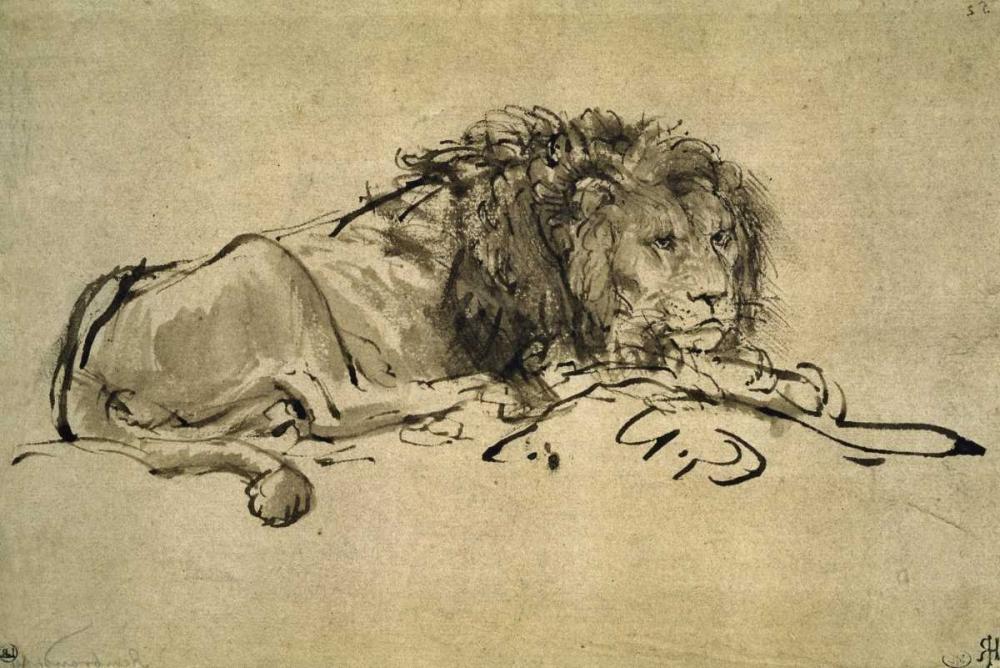 Rembrandt, van Rijen