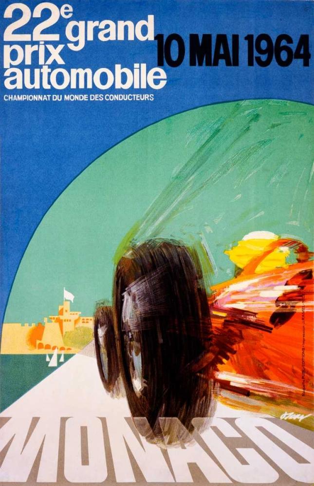 konfigurieren des Kunstdrucks in Wunschgröße 22e grand prix / 10 Mai 1964 von Einzelbilder