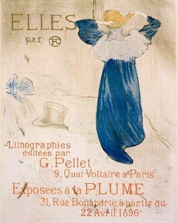konfigurieren des Kunstdrucks in Wunschgröße Elles von Toulouse-Lautrec, Henri
