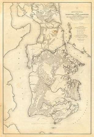 konfigurieren des Kunstdrucks in Wunschgröße Civil War - Yorktown To Williamsburg, 1862 von Abbot, Henry L.
