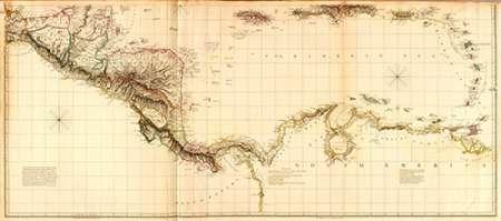 konfigurieren des Kunstdrucks in Wunschgröße West Indies II, 1810 von Arrowsmith, Aaron