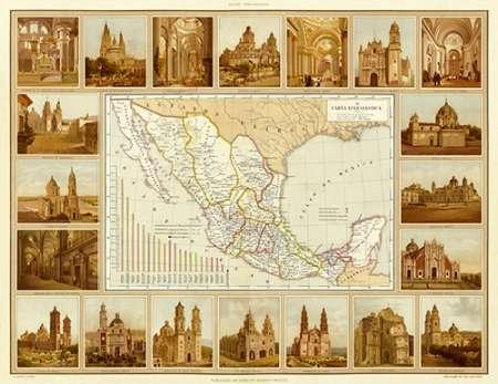konfigurieren des Kunstdrucks in Wunschgröße Carta Eclesiastica, 1885 von Cubas, Antonio Garcia