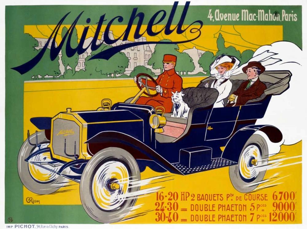 konfigurieren des Kunstdrucks in Wunschgröße Mitchell von Einzelbilder