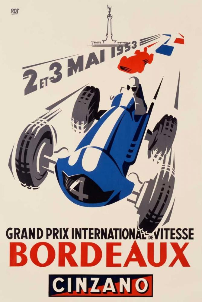 konfigurieren des Kunstdrucks in Wunschgröße Grand Prix/Bordeaux von Einzelbilder