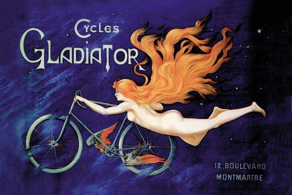 konfigurieren des Kunstdrucks in Wunschgröße Cycles Gladiator, 1895 von Unknown