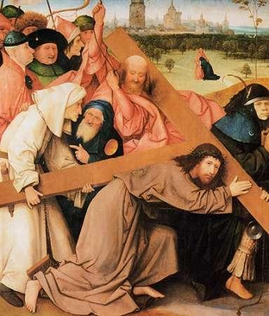 konfigurieren des Kunstdrucks in Wunschgröße Museumist Carrying The Cross von Bosch, Hieronymus