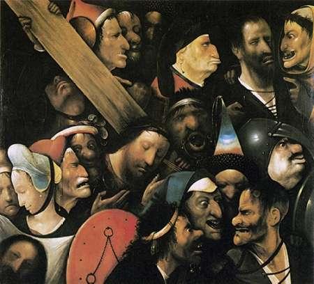 konfigurieren des Kunstdrucks in Wunschgröße Museumist Carrying The Cross II von Bosch, Hieronymus