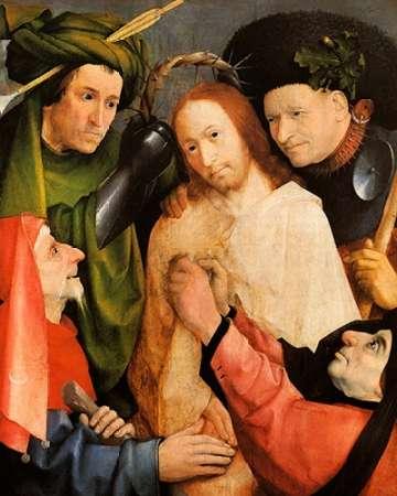 konfigurieren des Kunstdrucks in Wunschgröße Museumist Crowned With Thorns von Bosch, Hieronymus