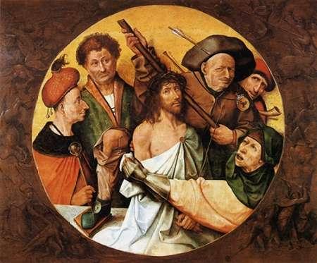 konfigurieren des Kunstdrucks in Wunschgröße Museumist Crowned With Thorns II von Bosch, Hieronymus