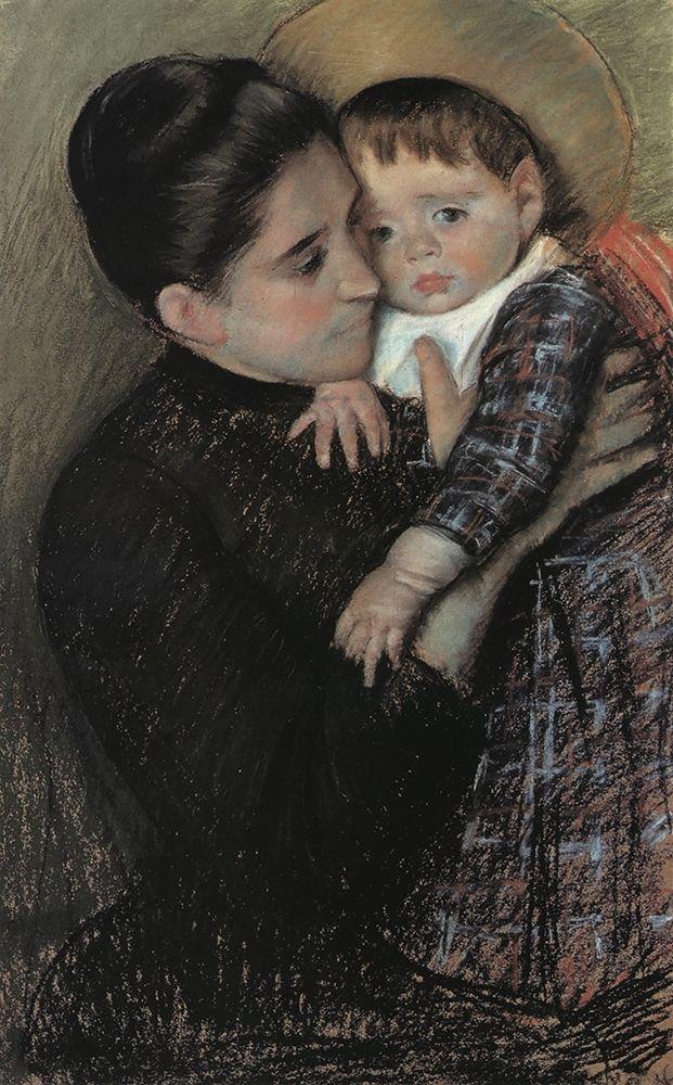 konfigurieren des Kunstdrucks in Wunschgröße Helene De Septeuil 1889 von Cassatt, Mary