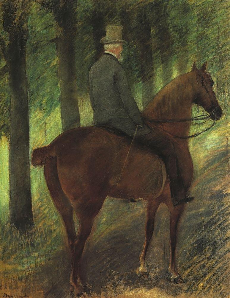 konfigurieren des Kunstdrucks in Wunschgröße Mr Robert S On Horseback 1885 von Cassatt, Mary