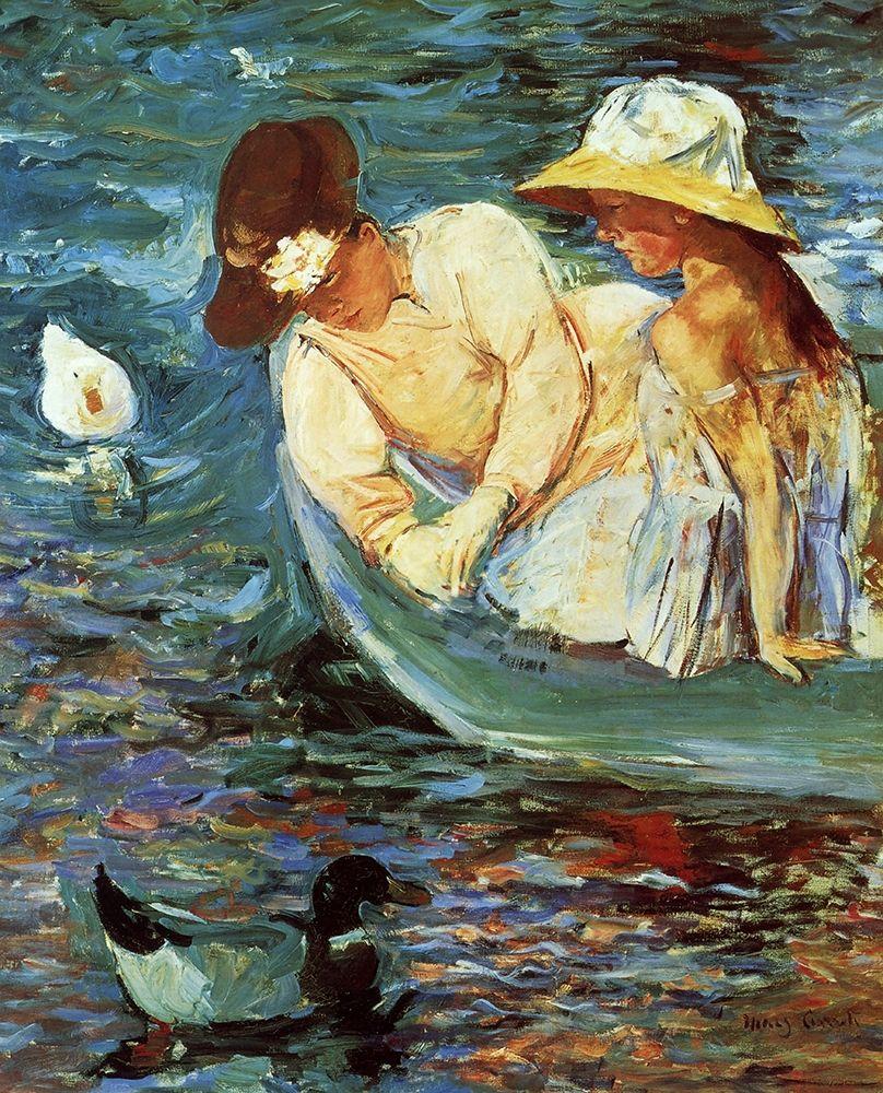 konfigurieren des Kunstdrucks in Wunschgröße Summertime 1894 von Cassatt, Mary