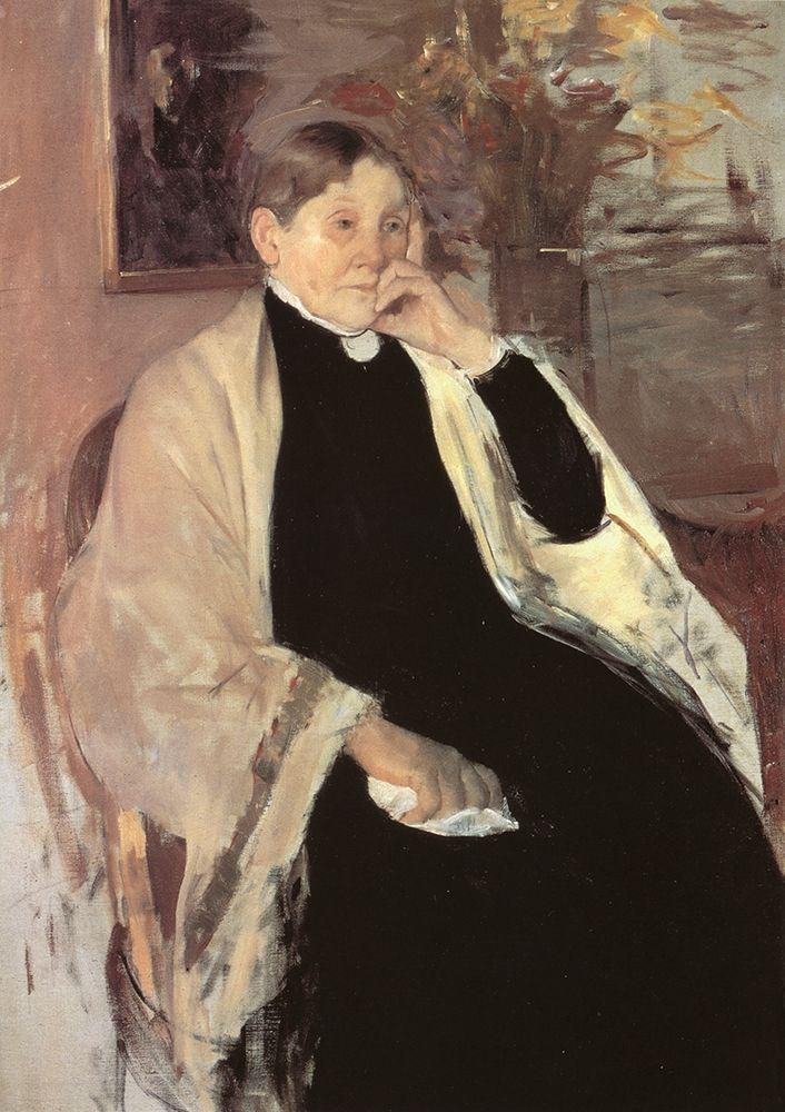konfigurieren des Kunstdrucks in Wunschgröße The Artists Mother Katherine Kelso Johnston 1889 von Cassatt, Mary