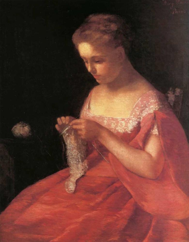 konfigurieren des Kunstdrucks in Wunschgröße The Young Bride 1869 von Cassatt, Mary