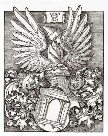 Coat Of Arms von Durer, Albrecht <br> max. 76 x 97cm <br> Preis: ab 10€