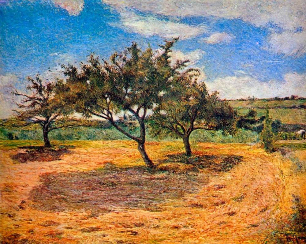 konfigurieren des Kunstdrucks in Wunschgröße Apple Trees In Blossom von Gauguin, Paul