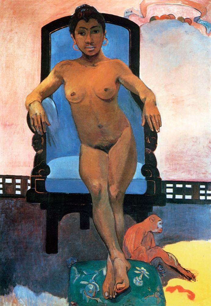 konfigurieren des Kunstdrucks in Wunschgröße Portrait Of Annah The Javanese von Gauguin, Paul