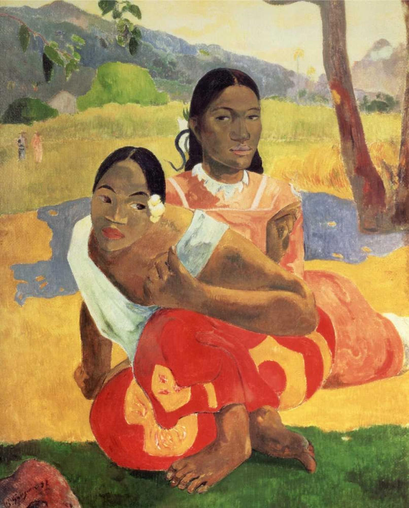 When Will You Marry von Gauguin, Paul <br> max. 97 x 122cm <br> Preis: ab 10€