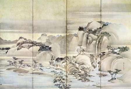 konfigurieren des Kunstdrucks in Wunschgröße Landscape Spring And Summer von Hokusai