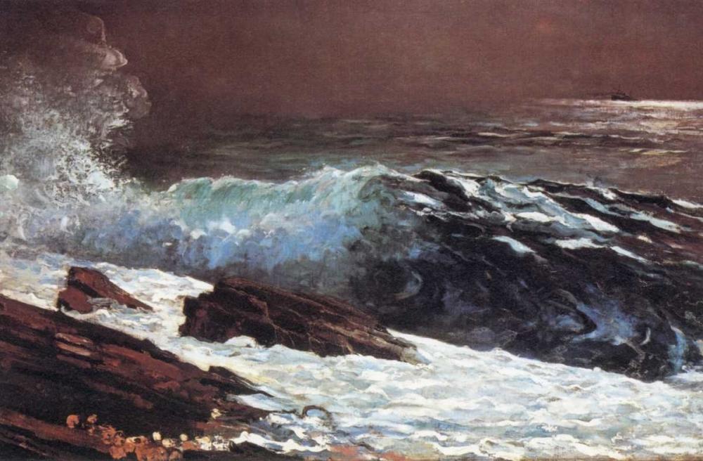 konfigurieren des Kunstdrucks in Wunschgröße Sunlight On The Coast von Homer, Winslow