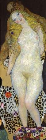 konfigurieren des Kunstdrucks in Wunschgröße Adam And Eve von Klimt, Gustav