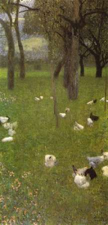 konfigurieren des Kunstdrucks in Wunschgröße After The Rain 1899 von Klimt, Gustav