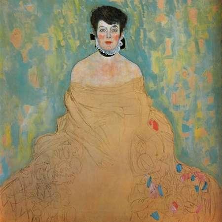 konfigurieren des Kunstdrucks in Wunschgröße Amalie Zuckerkandl 1918 von Klimt, Gustav