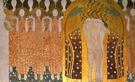 konfigurieren des Kunstdrucks in Wunschgröße Beethoven Frieze (detail)1902 von Klimt, Gustav