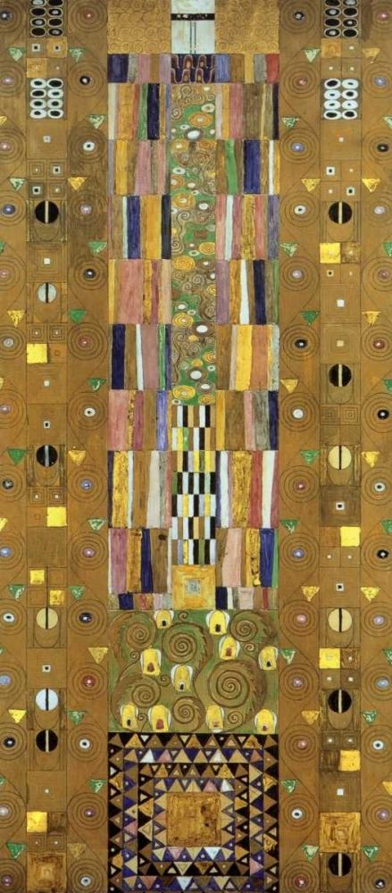 konfigurieren des Kunstdrucks in Wunschgröße Cartoon For The Stoclet Frieze von Klimt, Gustav
