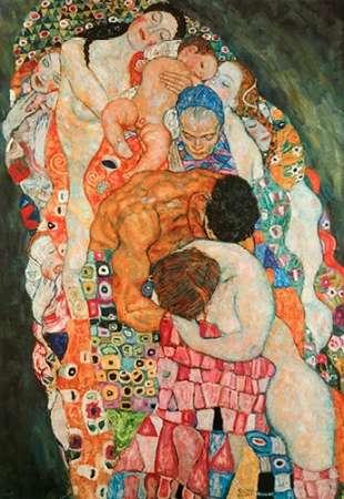 konfigurieren des Kunstdrucks in Wunschgröße Death And Life 2 von Klimt, Gustav